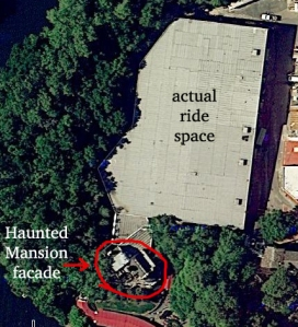 Haunted Mansion building